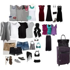 7 day cruise packing list.