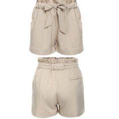 Dmart7dealBud Wide Leg Solid Loose Shorts High Waist Short Beach