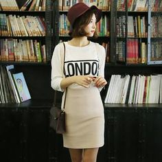 Short hair outfit love the hat Hats Short Hair, Short Hair Outfits, Girl Short Hair, Short Hair Styles, Fashion Styles, Fashion Outfits, Fashion Tips, Ulzzang Short Hair, Weather Wear