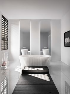 Kelly Hoppen's eastern inspired bathware collection for Apaiser