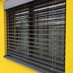 Venkovní žaluzie s přiznaným krycím plechem - Hodonín Blinds, Curtains, Home Decor, Decoration Home, Room Decor, Shades Blinds, Blind, Draping, Home Interior Design