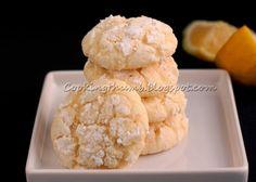 Cooking Thumb: Lemon Crinkle Cookies (not cake mix cookies)