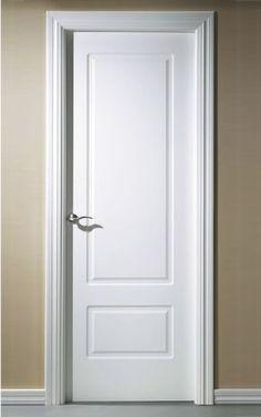 El post de las casas con puertas blancas puertas doors - Renovar puertas sapelly ...