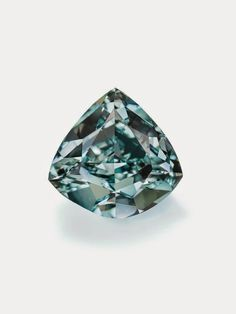 The Ocean Dream - The Largest Fancy Vivid Blue-Green Diamond in the world due to its size of 5.5ct, natural origin, hue and saturated color which makes it an  extremely rare and unusual and was sold at Christie's for $8,781,637 in May 2014