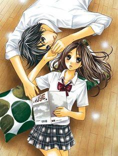 Shuusei y Aoi // L-dk Manga Girl, Manga Anime, Anime Art, Ldk Manga, L Dk, Romantic Anime Couples, Otaku Mode, Manga Drawing, Beautiful Couple