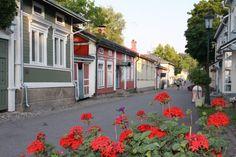 Naantalin vanhaa kaupunkia, Mannerheiminkatu