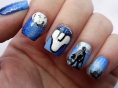 Destiny Nails  #nailart #nerdnails #destinythegame