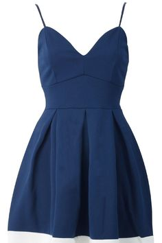 Pop Couture - CAMI SKATER DRESS WITH MESH PANEL NAVY, £25.49 (http://www.popcouture.co.uk/new-in/cami-skater-dress-with-mesh-panel-navy/)