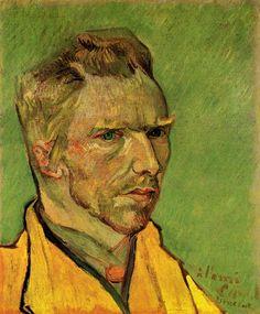Van Gogh, Self Portrait, November-December 1888. Oil on canvas, 46 x 38 cm