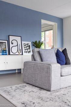 Make-over: Binnenkijken bij Kimmy (deel Sofa, Couch, Future House, Interior Decorating, Sweet Home, New Homes, Living Room, How To Make, Furniture