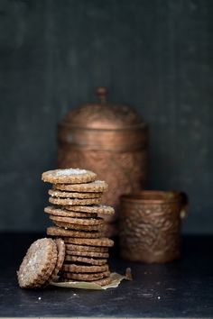 Coffee Shorbread // as inspiration -- can't find a recipe // Photography at Passionate about Baking