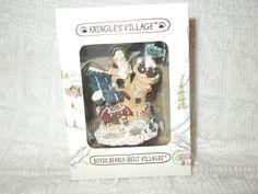 Boyds Bearly Built Kringle's Village Elves B Us Workshop Christmas Ornament NIB