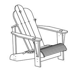 Adirondack – SEGPACAP Adirondack Chairs, Outdoor Chairs, Outdoor Decor, Funky Furniture, Garden Furniture, Outdoor Furniture, Backyard Seating, Garden Seating, Woodworking