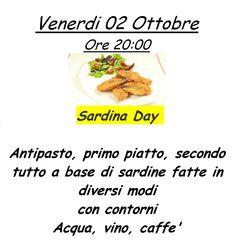 Nuova offerta: Sardina Day - Trattoria San Rocco - Vicenza