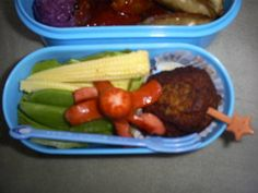 My first ever bento lunch. - COOKING  - Knitting, sewing, crochet, tutorials, children crafts, jewlery, needlework, swaps, papercrafts, cooking and so much more on Craftster.org