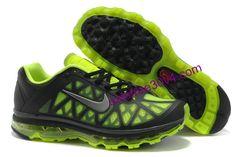 Mens Nike Air Max 2011 Black Volt Silver Sneakers Nike Free Run 3 - Nike Air Max 2012, Nike Max, Cheap Nike Air Max, Nike Air Max For Women, Nike Shoes Cheap, Nike Free Shoes, Mens Nike Air, Nike Women, Nike Heels