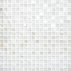 Bricmate T1515 White Mix Carrara Glam Mosaik - Badrumsgruppen