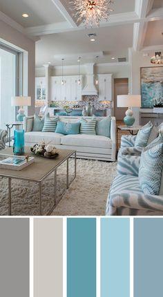 Cách phối màu phòng khách 4