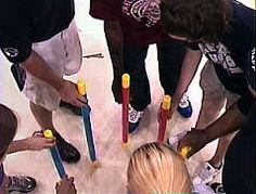 Baton Pass Team Building Exercise