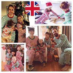 Children Kids Adult Family Pyjamas Christmas Gift Xmas Pj Set Cotton Nightwear
