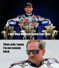 The Intimidator Dale Earnhardt