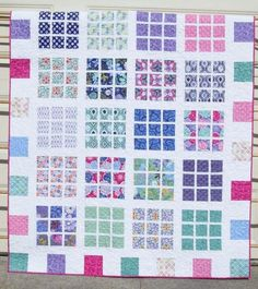 Layer Cake Quilt Patterns | Quilt Pattern Easy Layer Cake and Fat by ... | Quilting