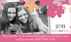 Send beautiful New Year Cards for FREE !