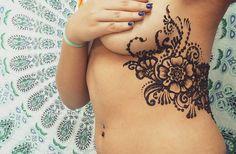 Floral Henna inspired by Ginka's Art | Henna Shantall @hennashantalla