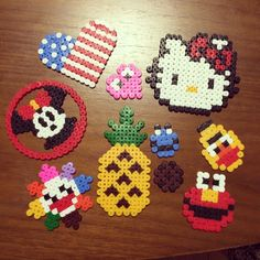 Perler bead crafts by onmymark