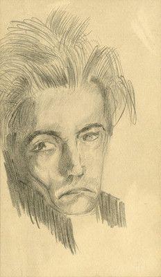 * Autoportrait,Ca 1924-26 - Antonin Artaud