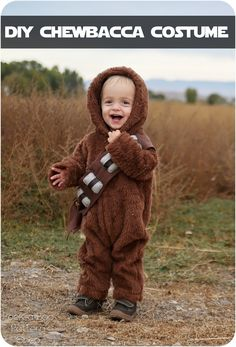 DIY Chewbacca Costume - Peek-a-Boo Pages - Sew Something Special