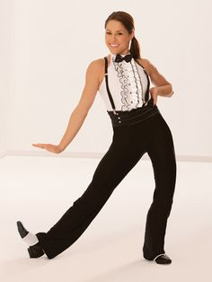 Tight Rope - Style 0447 | Revolution Dancewear Jazz/Tap Dance Recital Costume
