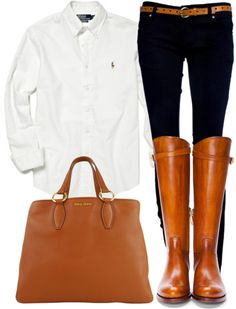 """OOTD"" by southernbelle ❤ liked on Polyvore"