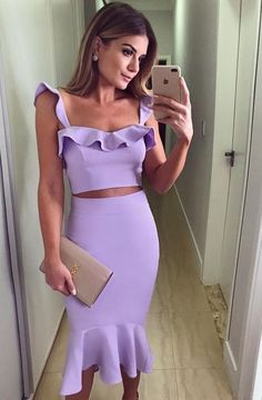 Two piece mermaid purple party dress, Shop plus-sized prom dresses for curvy figures and plus-size party dresses. Ball gowns for prom in plus sizes and short plus-sized prom dresses for Freshman Homecoming Dresses, Two Piece Homecoming Dress, Prom Dresses, Bridesmaid Gowns, Dress Prom, Evening Dresses, Purple Party Dress, Sexy Party Dress, Belted Dress