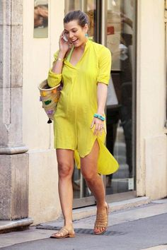 26 August 2013 Charlotte Casiraghi has been seen shopping in St Tropez  with her friends