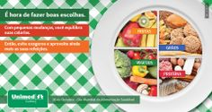 Prato mais leve e uma vida melhor!  No Dia Mundial da Alimentação, aproveite para repensar os hábitos e desfrute de refeições mais equilibradas e saborosas: http://unimed.me/H0fqPZ