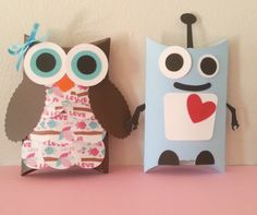 #Valentine's Day #Candy Boxes by #2twolittlemonsters on Etsy, $12.00 #favors #party #decorations