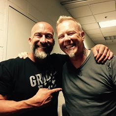 Got 20 minutes with a Legend last night..!! What an incredible interview and time..!! #metallica #metalhead #rockandroll #jameshetfield #rocknroll #music