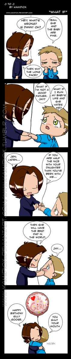 What if (Happy 35th bday Jensen) by KamiDiox.deviantart.com on @deviantART