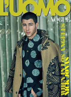 Nick Jonas covers LUomo Vogue 2016 www.wmfeed.me