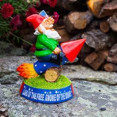 Stars and Stripes Patriotic Gnome