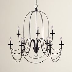 Found it at Wayfair - Big Sky 9 Light Candle-Style Chandelier