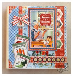 Make a Home Sweet Home Recipe Book with a Free Project Sheet!