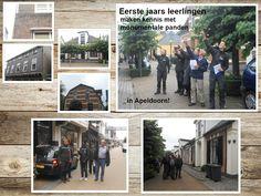 Eerste jaars leerlingen maakte kennis met monumentale panden in Apeldoorn! Vakmanschap door de jaren heen!   #terugblik