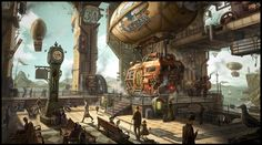 steampunk art Archives - Delightfully fictional