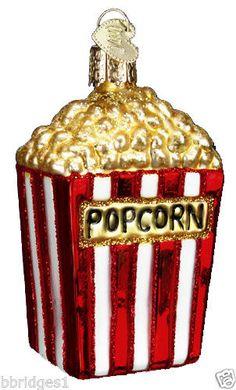 Popcorn-Movie-32074-Old-World-Christmas-Glass-Ornament-NEW