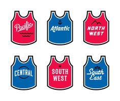 Basketball Jerseys by Elias Stein