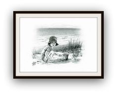 Prace wykonane w Grafika w olowku wymiar 42 x 30 cm autor Miroslaw Kolbe Art Children, Art For Kids, My Marine, Nautical Art, Decor Crafts, Home Decor, Art Work, Arts And Crafts, Husband