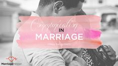 """It seems that everywhere we turn we hear that all our marriage problems could be solved if we'd just """"communicate."""" And that the """"key"""" to every issue that could ever come up in marriage cowers at the very feet of communication."""
