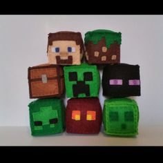 Did you know the party favor blocks get cheaper the more you buy? Available single, 5 pk and 8 pk, but message me for a bulk discount on larger amounts! Great for Minecraft parties!